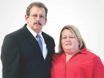 Pr. Berto Moraes e Regina