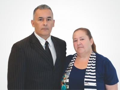 Pr. Mario Seberino e Joaquina