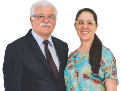 Pr. Josue Cipriano e Odete Cipriano